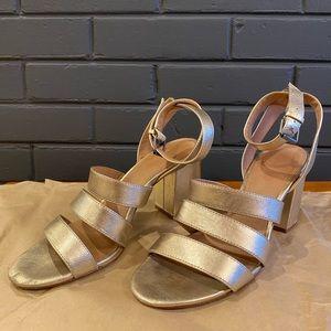 Madewell Maria Triple Strap Sandals